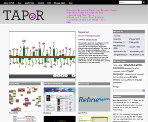 Research, Documentation and Site Content Developer, Text Analysis Portal for Research (TAPoR)