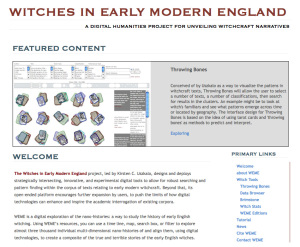 Researcher, Witches in Early Modern England (WEME)
